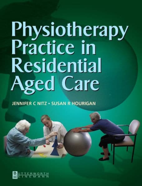 Physiotherapy Practice in Residential Aged Care , cover